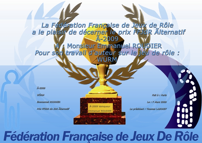 Prix FFJDR alternatif 2009