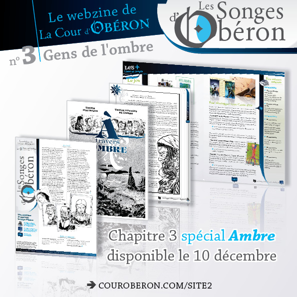 songes d'obéron 3 Ambre
